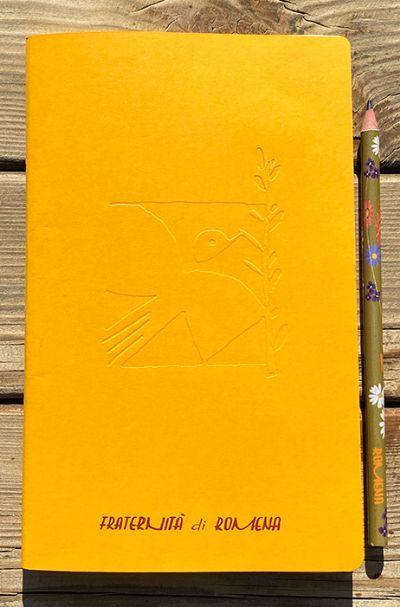 Quaderno Romena Giallo